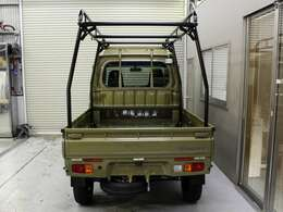 HARD CARGOキャリア仕様!オプションにて、背面タイヤ仕様も可能!