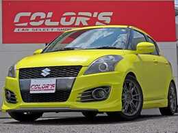 スズキ スイフト 1.6 スポーツ レイズ17AW 車高調 グレッディマフラー