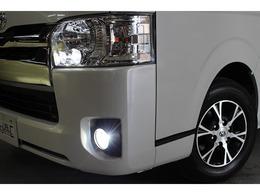 LEDヘッドライト装備です。ポジションランプ・フォグランプもLEDを取付済みです。