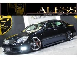 トヨタ クラウンアスリート 3.0 Gパッケージ 黒革 新品車高調 新品タイヤ WORK19