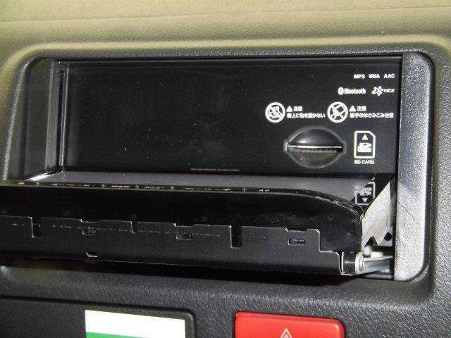 CDプレーヤー搭載なので、好きな音楽を聴きながら楽しいドライブを♪