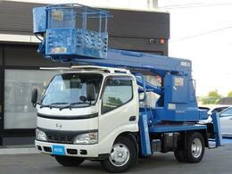 日野自動車 デュトロ 高所作業車 作業床11.9m アイチ SS12A