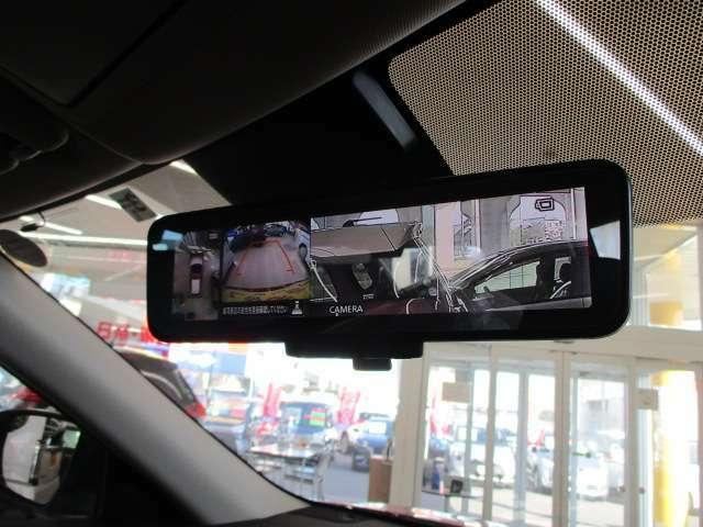 スマートルームミラー 360度アラウンドビューモニター&バックカメラで駐車も安心です!