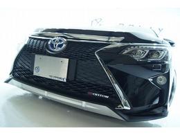 トヨタ カムリハイブリッド 2.5 Gパッケージ 新品バンパー新品ライト新品ホイール車高調