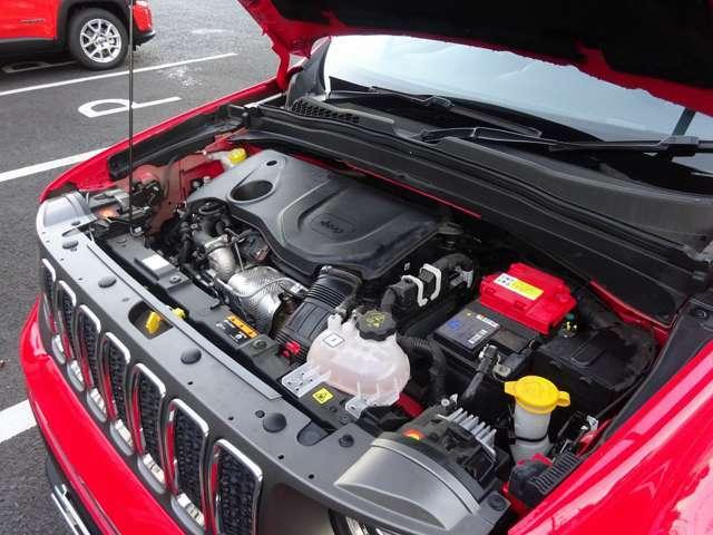 1300CCターボの経済的なエンジンです。