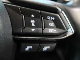 全車速追従オートクルーズ 約30~100km/hの範囲で走行中、アクセルを踏まずに設定速度での定速走行が可能。また、エンジンと6速ATの協調制御により、燃費にも貢献します。