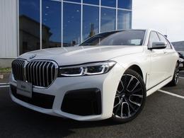 BMW 7シリーズ 740i Mスポーツ 360度画像 レーザーライト黒レザー20AW