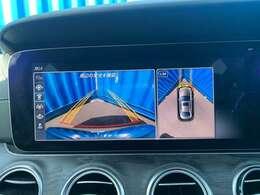 【360°カメラシステム】360度カメラで駐車も楽々です。ラージサイズのボディを忘れさせてくれるような取り回しの良さです♪