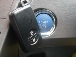 【スマートキー&プッシュスタート】ドアハンドルを軽く握るだけでドアロックを解錠でき、施錠はドアハンドルのロックスイッチを押すだけでOKです。