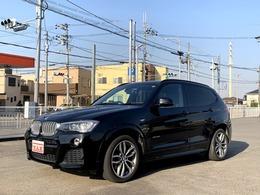 BMW X3 xドライブ28i Mスポーツ 4WD 黒革シート サンルーフ 360度カメラ