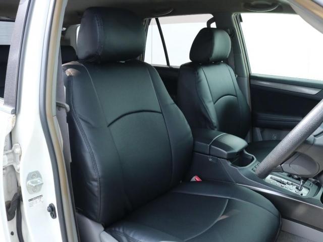 新品シートカバーにて使用感の出やすい内装もご覧の通りキレイな状態!