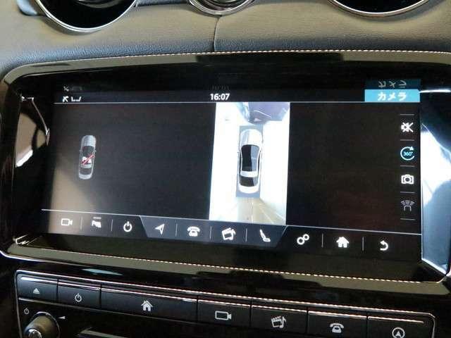360°サラウンドカメラ(130,000円)「車の周囲を見回すことができるカメラにより駐車の時や細い道を走る時もとても便利で快適です。」