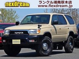 トヨタ ハイラックスサーフ 2.7 SSR-X 4WD USスタイル DEANアルミ MTタイヤ付