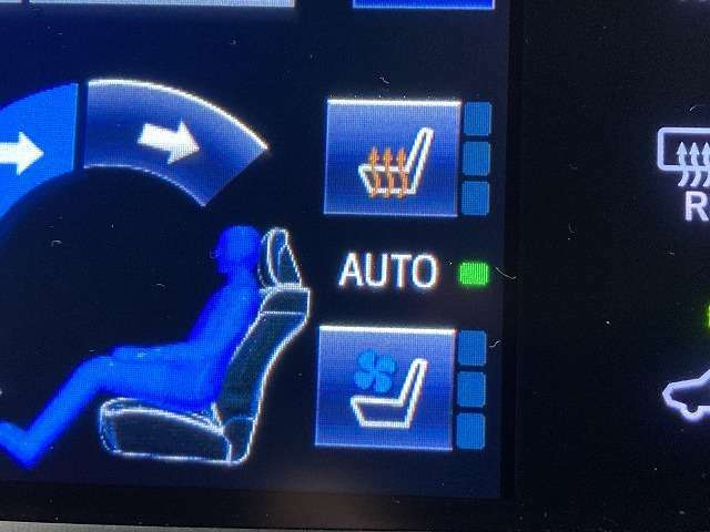 【シートヒーター/シートエアコン】装備で、季節を選ばず快適にお過ごし頂けます。