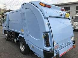 新明和G-RX4.4立米!連続スイッチ、汚水タンク付き車両です!
