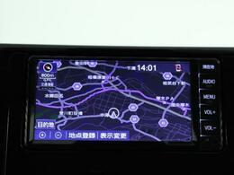 トヨタ純正メモリーナビ☆目的地の設定など操作のしやすいカーナビです