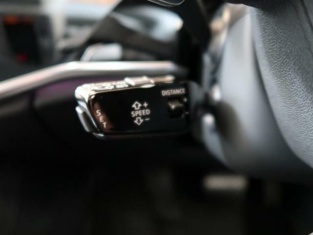 <アダプティブクルーズコントロール>前車に追従して速度と間隔を自動制御します