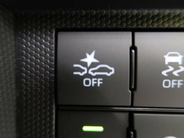 スマートアシスト『約4~約30km/h で走行中、先行車との衝突の危険性が高まったとシステムが判断した場合に作動し、自動的に停止または減速して衝突回避や衝突被害の軽減を図ります。』