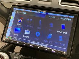 フルセグTV/CD/DVD/Bluetooth等、各種再生方法、充実してます!