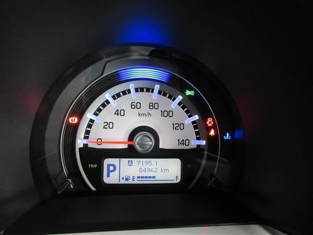 視認性に優れたデザインになっています。運転に必要な情報が表示されます