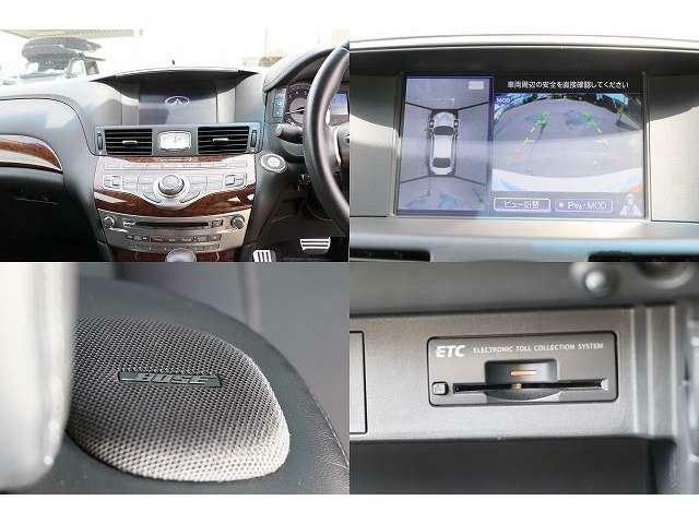 BOSEサウンド付き純正HDDナビ 地デジフルセグTV TVキャンセラー DVD再生 音楽録音 Bluetooth アラウンドビューモニター ビルトインETC ドライブレコーダー