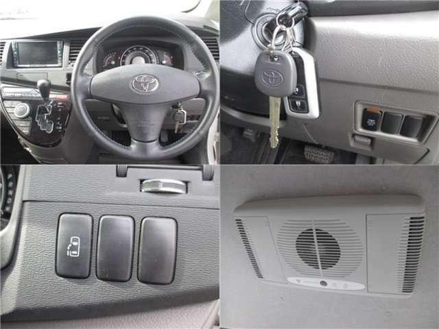 ☆キーレスキー&スペアキーあります☆ボタンを押せば自動で、ドアの開閉可能です☆