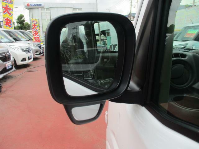 【ドアミラー】運転席から左側の見えづらい部分を映す補助ミラー付きです♪より安心して運転できますね♪