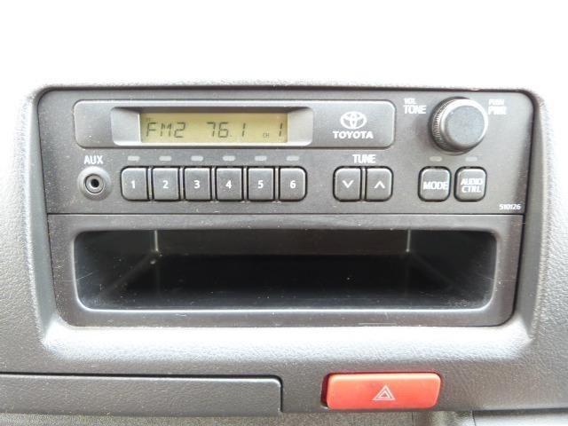 純正ラジオ付き