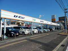 軽自動車からミニバンまで幅広い車種を取り揃えてご来店をお待ちいたしております。