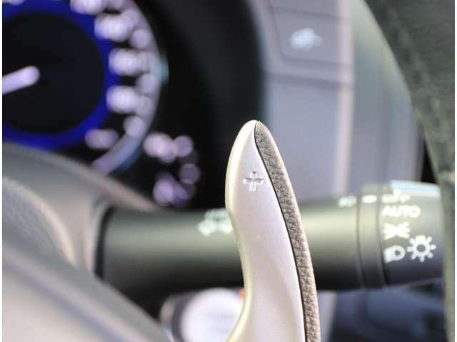 パドルシフト+マニュアルモード付フルレンジ電子制御7速オートマチックトランスミッション!