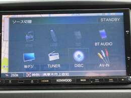 CD/DVD/SC/TV/Bluetoothに対応