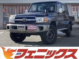 トヨタ ランドクルーザー70ピックアップ 4.0 4WD 電動ウインチ 前後デフロック ナビTV