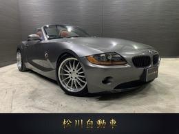 BMW Z4 ロードスター2.2i ロマンティック 赤レザーシート