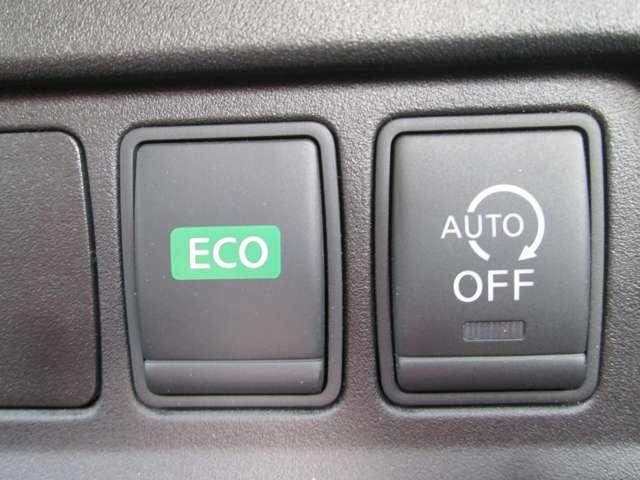 エコモード・アイドリングストップ機能が付いて、環境に優しい仕様の車です!