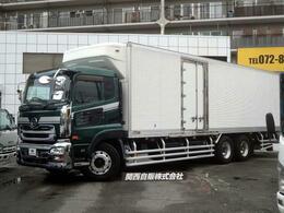UDトラックス クオン 低温冷蔵冷凍車 12.1t NOX適合