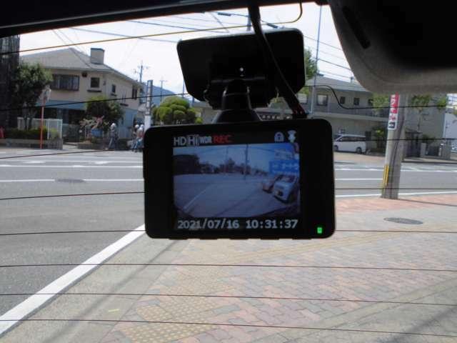 後方監視ドラレコ付き 安心の日本製 コムテックHDR103を後方録画専用に取り付けました。