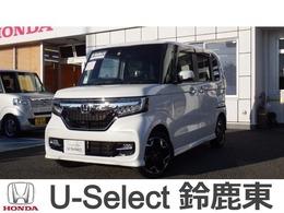 ホンダ N-BOX カスタム 660 G L ターボ ホンダセンシング 4WD 純正8インチナビ
