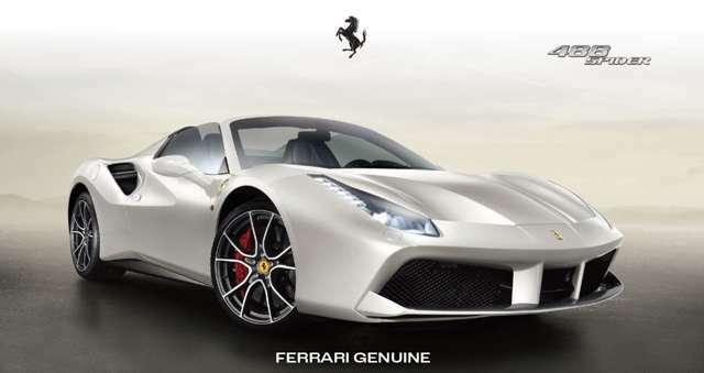 別途追加料金(134万5千円)でFerrari GENUINEダイヤモンド鍛造ホイールに変更できます。