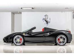 フェラーリ 488スパイダー F1 DCT 認定中古車リフター&フル電動シート