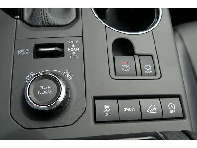 ★電動パーキングブレーキにドライブモード、それにダウンヒルアシスト機能もありより安心してドライブを楽しむことが可能です♪
