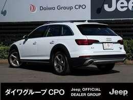 弊社BMW正規販売代理店よりお下取りで入庫いたしました。「出どころがハッキリしている。」Audi A4 アバント オールロード クアトロ です。