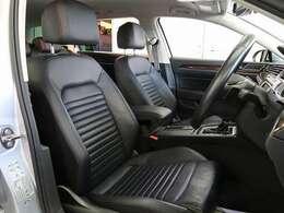 座り心地の良いシートです。前席はシートエアコンが装備されています。