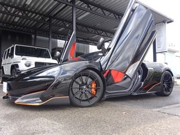 マクラーレン 600LTスパイダー 3.8 正規D車 ワンオーナー スペシャルP