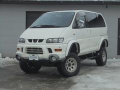三菱 デリカスペースギア の中古車 3.0 エアロ エアロルーフ 4WD 北海道札幌市東区 25.0万円