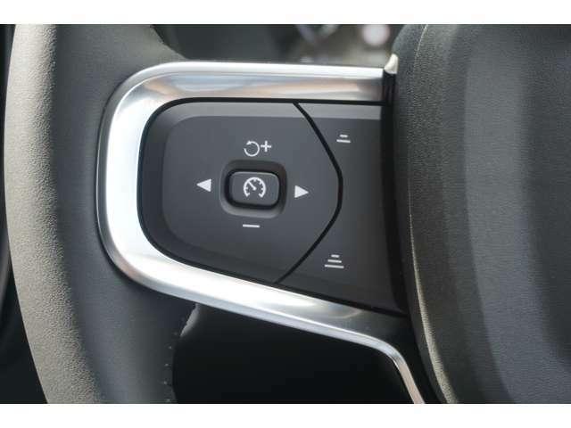 クルーズコントロールの操作も運転しながら簡単に操作できます。車線を認識して運動をサポートしてくれるシステム「パイロットアシスト」も装備しているので長距離の運転も疲れが軽減します。