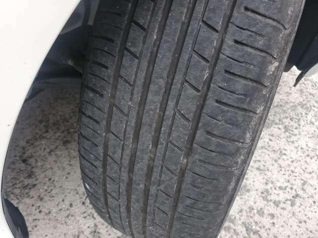 タイヤの溝もまだまだあります!!
