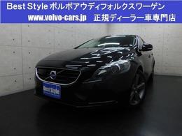 ボルボ V40 T4SEセーフティpkg 2014モデル/黒革/純ナビ/スマート/ETC/保証