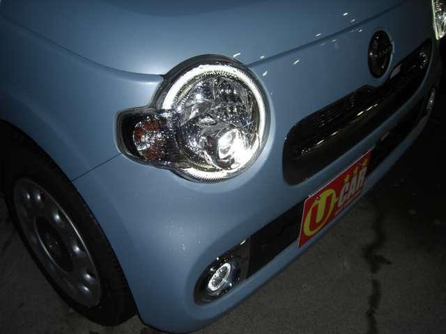 LEDヘッドランプ搭載!明るくて運転しやすいです♪
