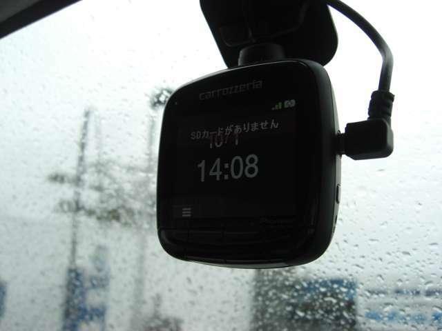 ドライブレコーダー!万が一の時でも安心です!