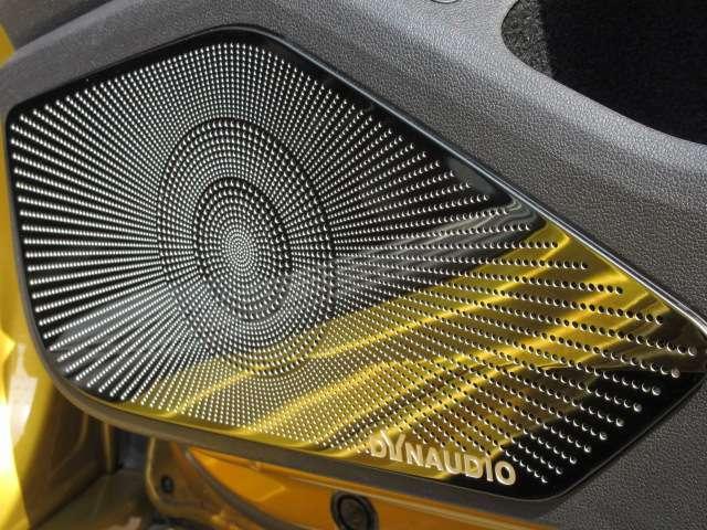 DYNAUDIOサウンドシステム♪ 専用プレミアムサウンドシステム搭載になります♪ ワンランク上の上品な音楽でドライブを楽しめます♪